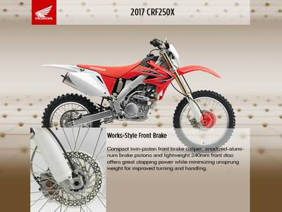 2017 Honda® CRF250X Base   Honda World   South Jordan, UT